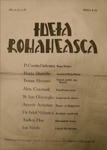 Număr special dedicat mucenicilor Ion Moţa şi Vasile Marin