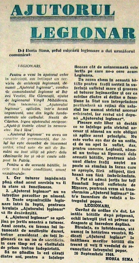 """""""Falanga"""", Anul IV, Nr. 16, 30 Septembrie 1940"""